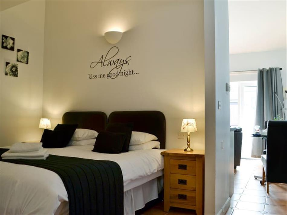 Bedroom in Celtic Haven Resort - Greenkeepers Cottage, Lydstep, near Tenby