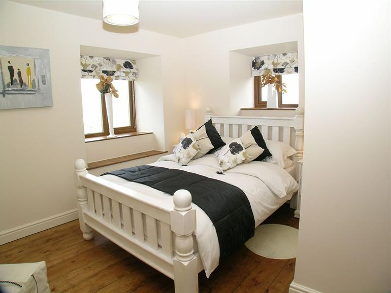 Bedroom in Daisy Cottage, Stanbury near Haworth