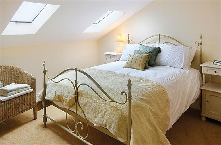 Bedroom in Damson Cottage, Rainow