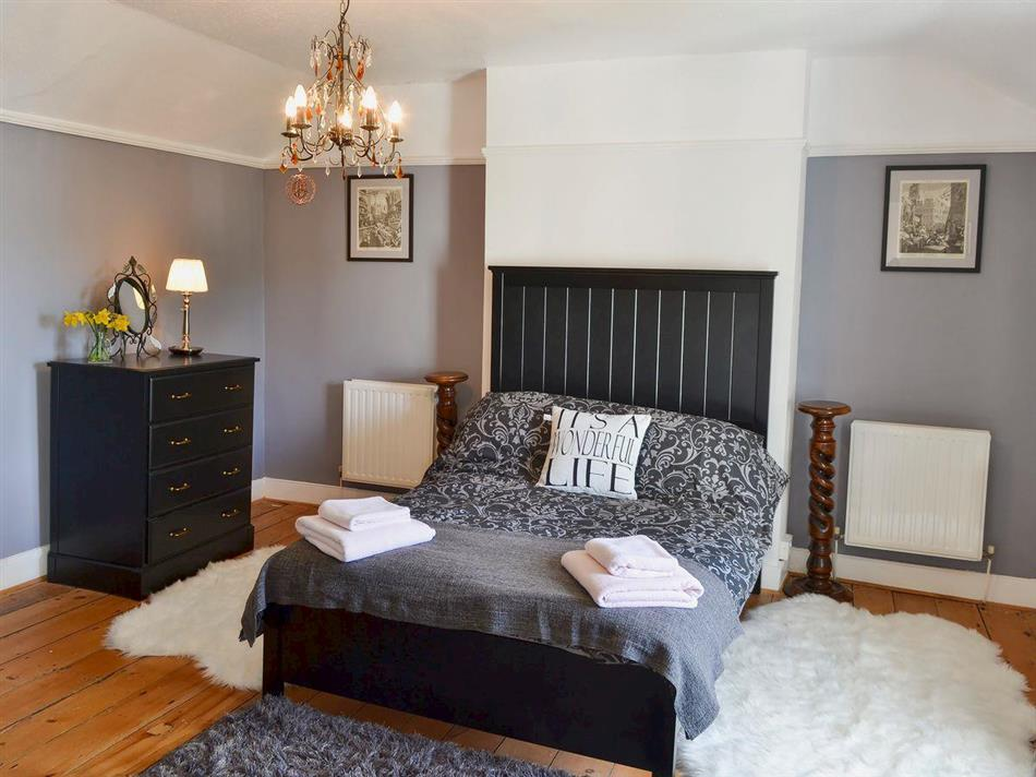 Bedroom in Emma Place, Bodmin, Cornwall