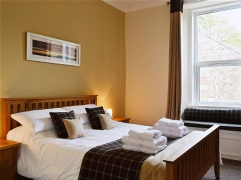 Bedroom in Island Escape, Millport Isle of Cumbrae