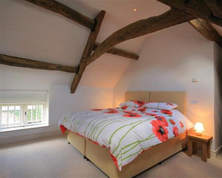 Bedroom in Malt Barn, Upper Brize near Burford
