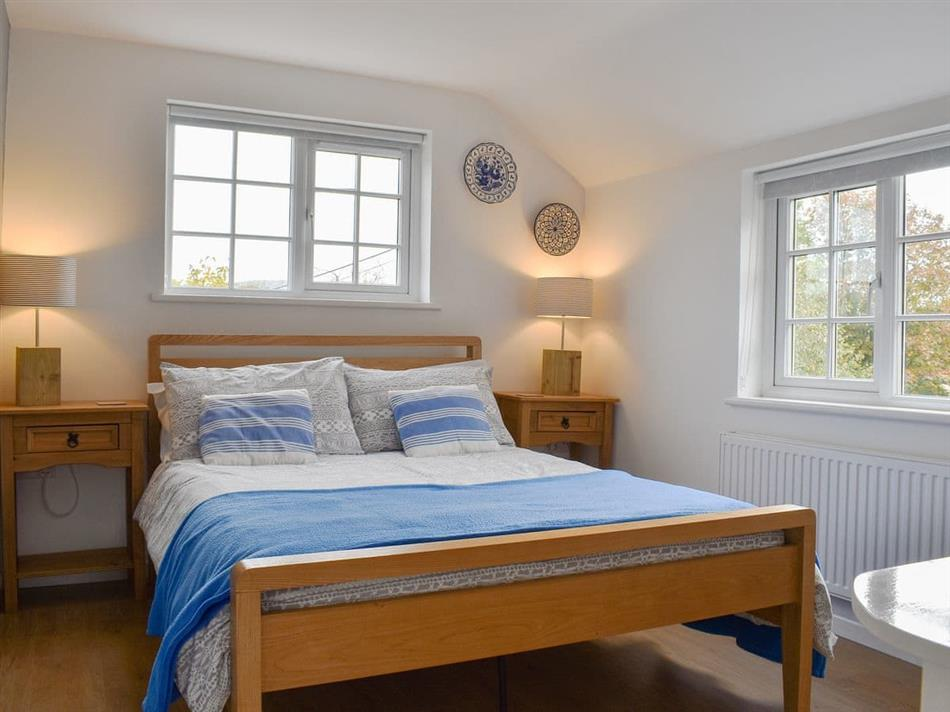 Bedroom in Purbeck Apartment, Chideock