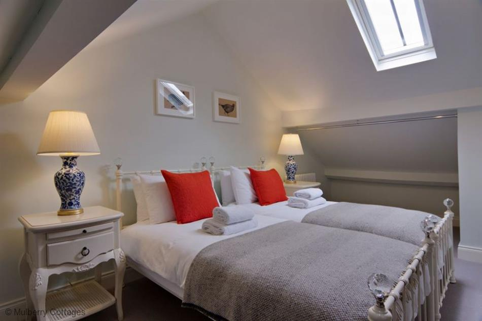 Bedroom in Purbeck Cottage, Twyford