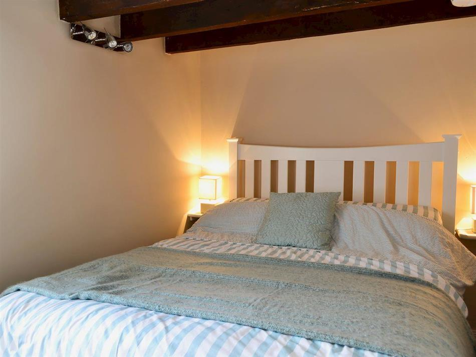 Bedroom in Rock Cottage, St Abbs, near Eyemouth, The Scottish Borders