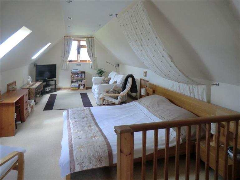 Bedroom in The Den, Lincolnshire