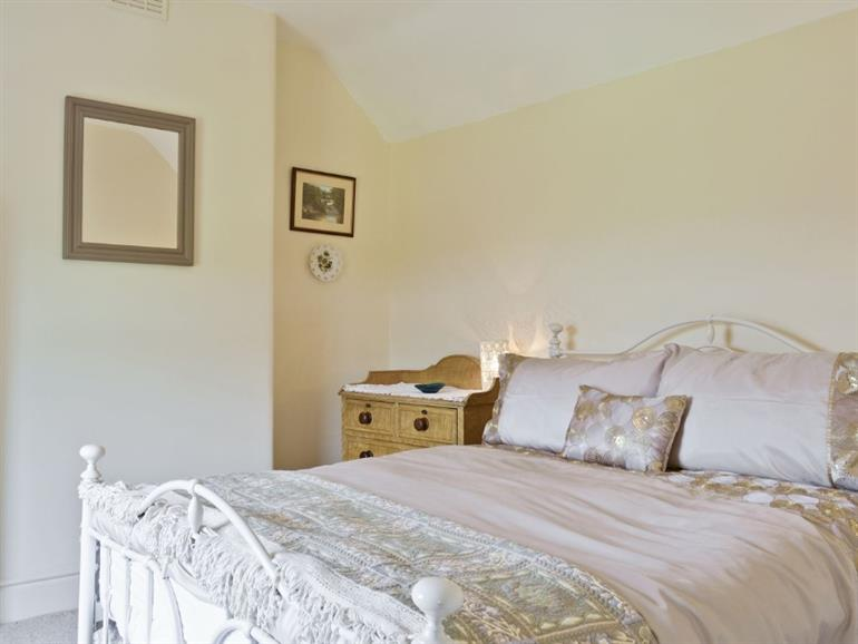 Bedroom in The Old Post Office, Little Bolehill near Wirksworth