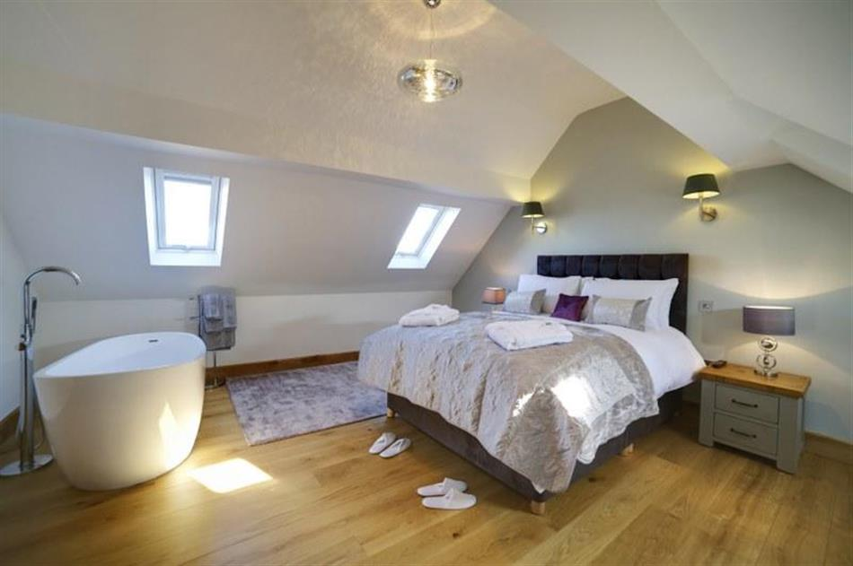 Bedroom in The Pump House, Ilkley
