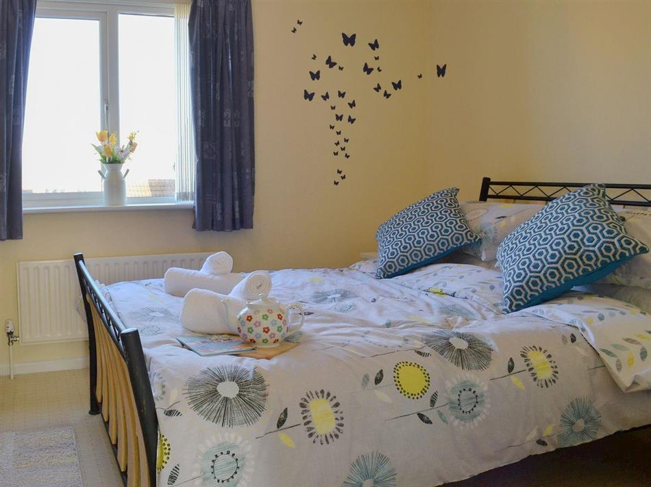 Bedroom in Twenty One, Westward Ho! near Bideford