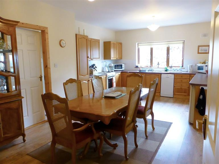 Dining room at Blackstairs View, Ballymurphy near Borris Co Carlow