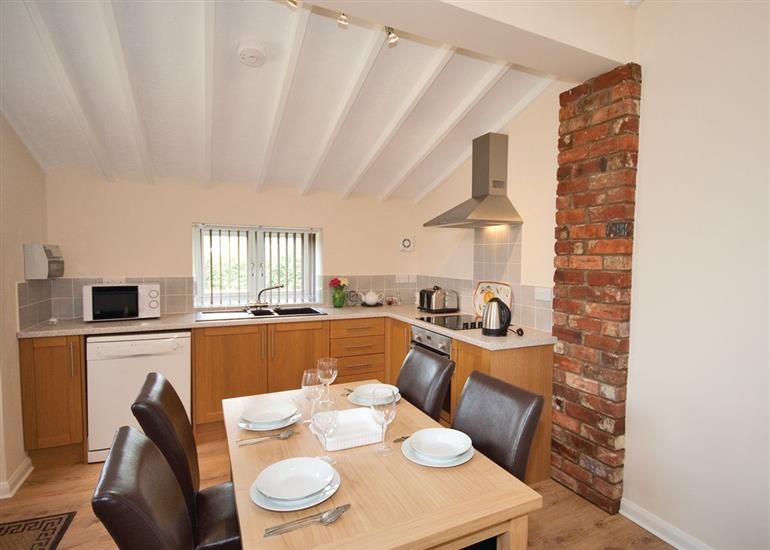 Dining room at Farriers Cottage, Lincolnshire