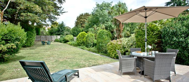 Garden at Oldway Apartment, Paignton