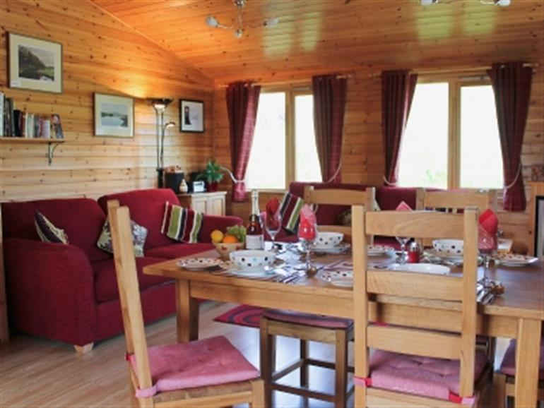 Inside Daisybank atHoe Grange Lodges, Brassington near Matlock