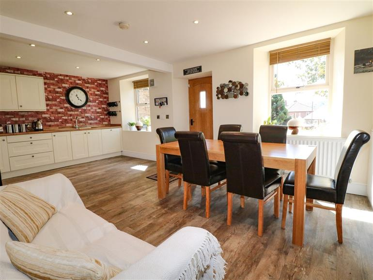The living room at 2 Snape Hill in Dronfield