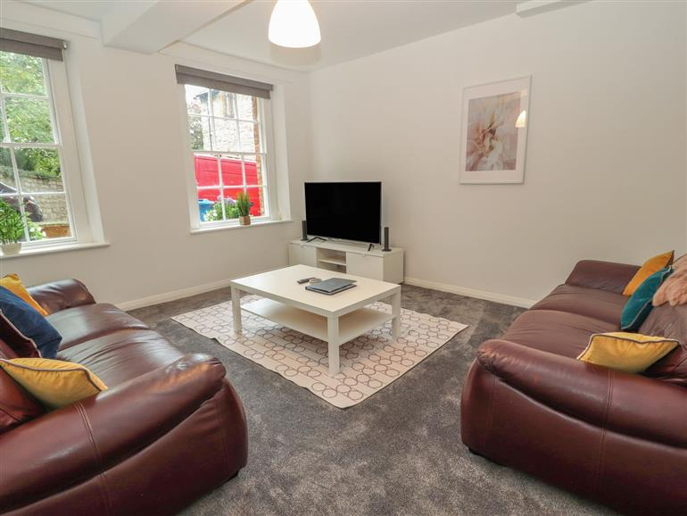 This is the living room at Apartment 1 in Ruthin