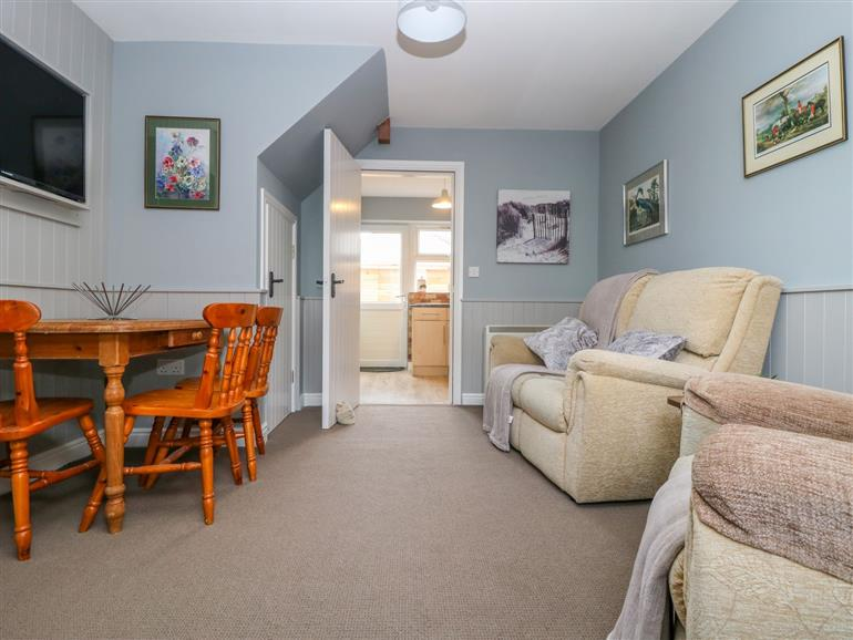 Living room in 5a Low Green, Catterick