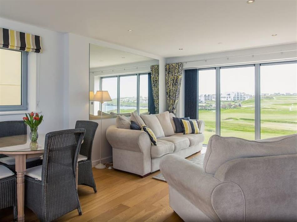 Living room in 9 Azure, Newquay
