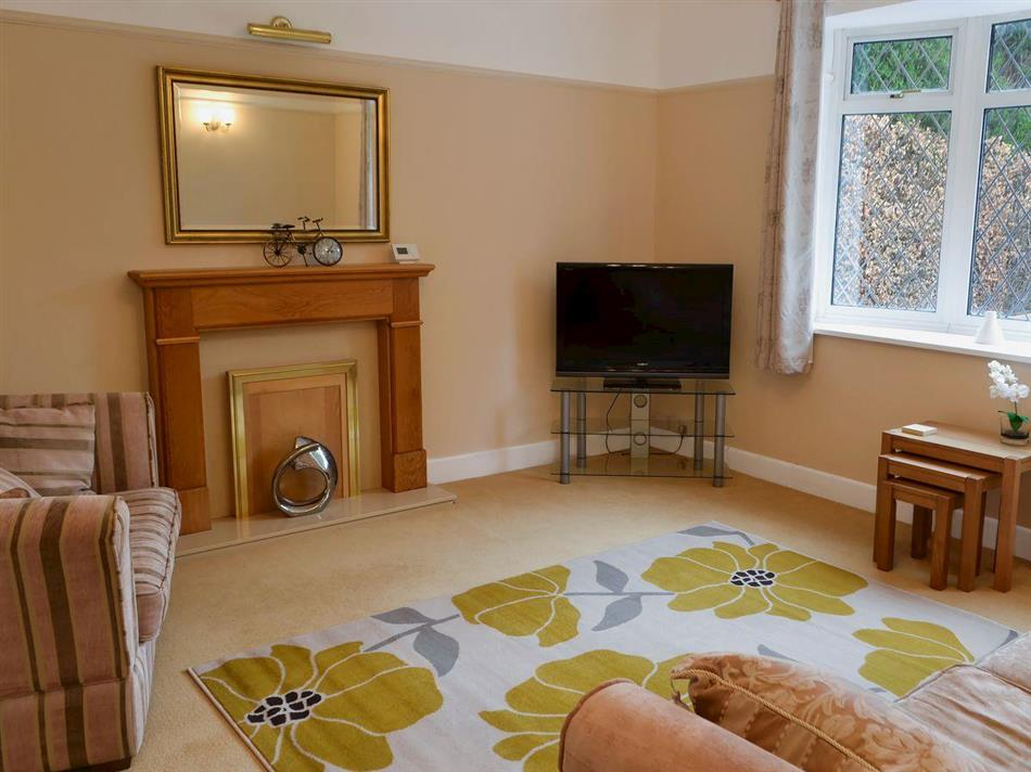 Living room in Alcedine, Darras Hall, near Ponteland, Northumberland