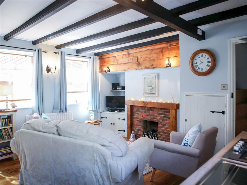 Living room in Ammonite Cottage, Whitby