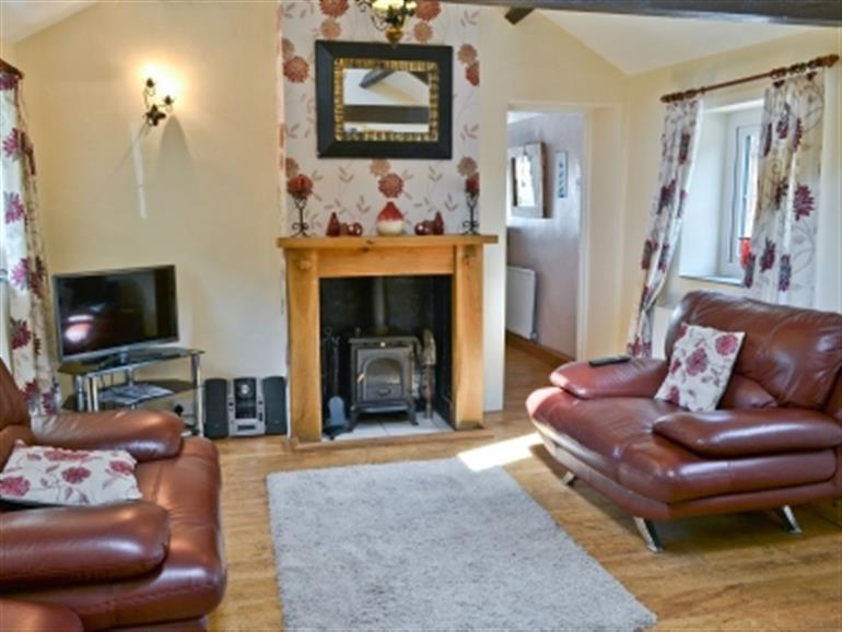 Living room in Annies Cottage, Wellington near Seascale