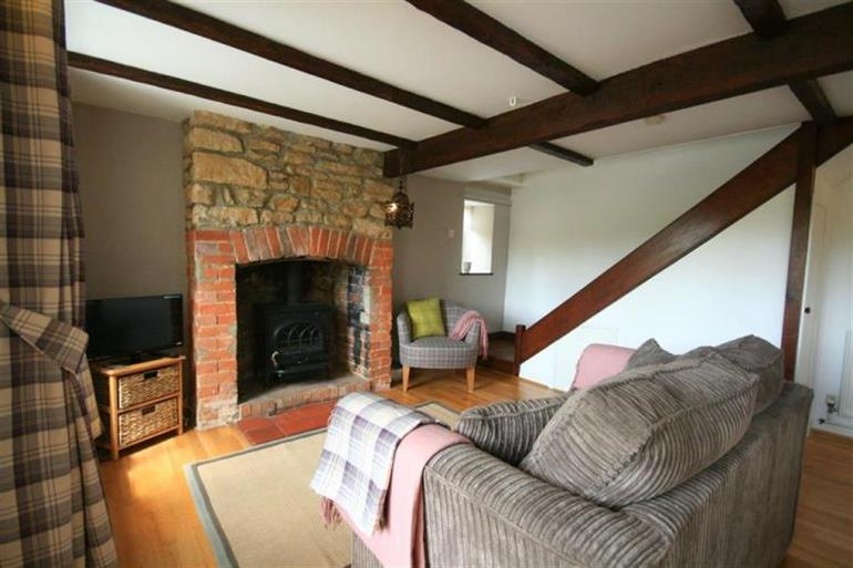 Living room in Appin Cottage, Shipton under Wychwood