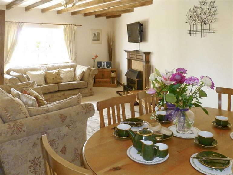 Living room in Ash Cottage, Lincolnshire