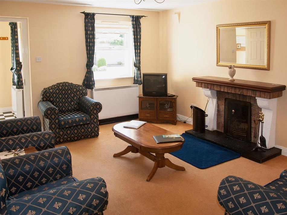 Living room in Aughrim Holiday Village, Aughrim