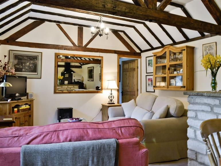 Living room in Bakery Cottage, Gloucestershire