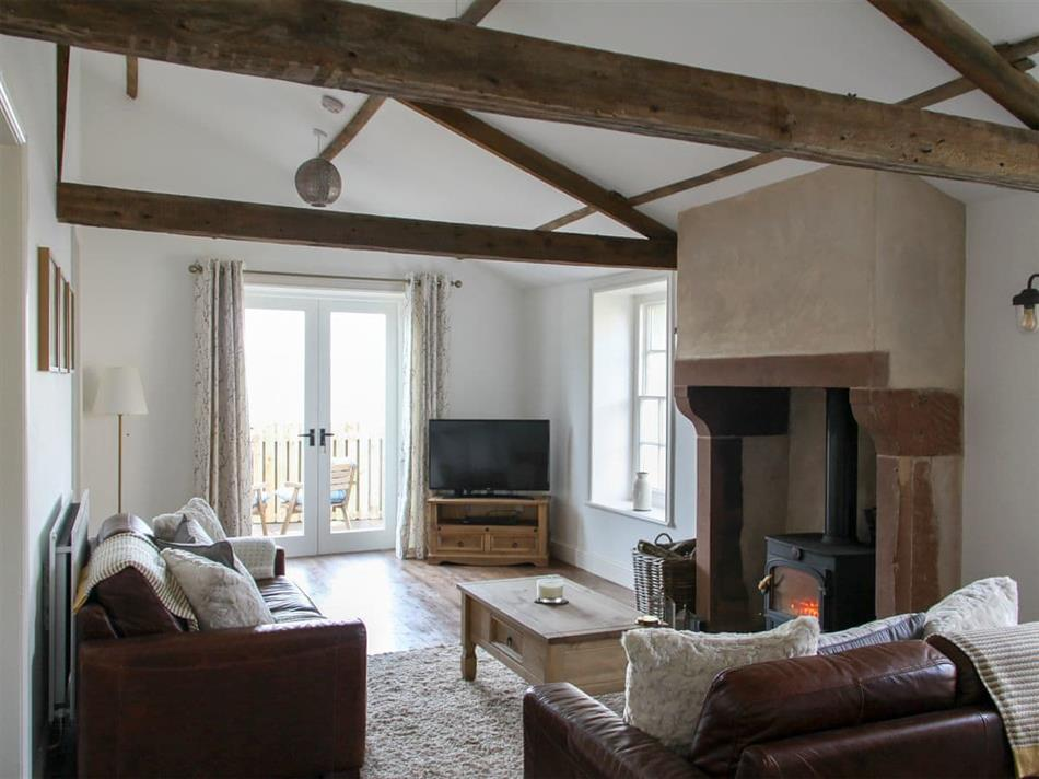 Living room in Bank Cottage, Bowness-on-Solway, near Wigton