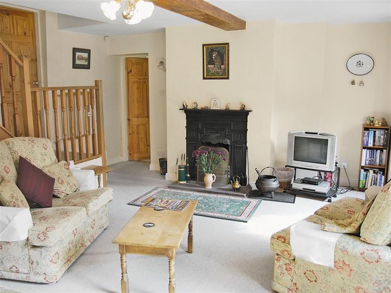 Living room in Barn Owl Cottage, Easby Nr Richmond