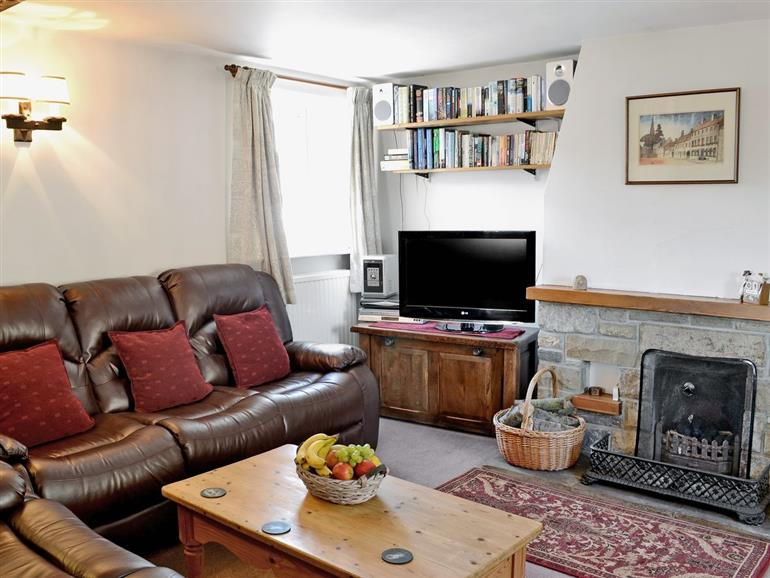 Living room in Barn Owl Cottage, Masham