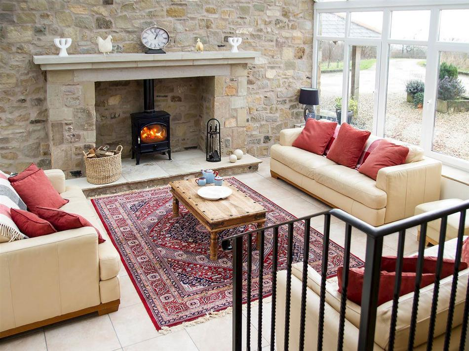 Living room in Barnacre Cottages - Woodpecker Cottage, Scorton near Garstang