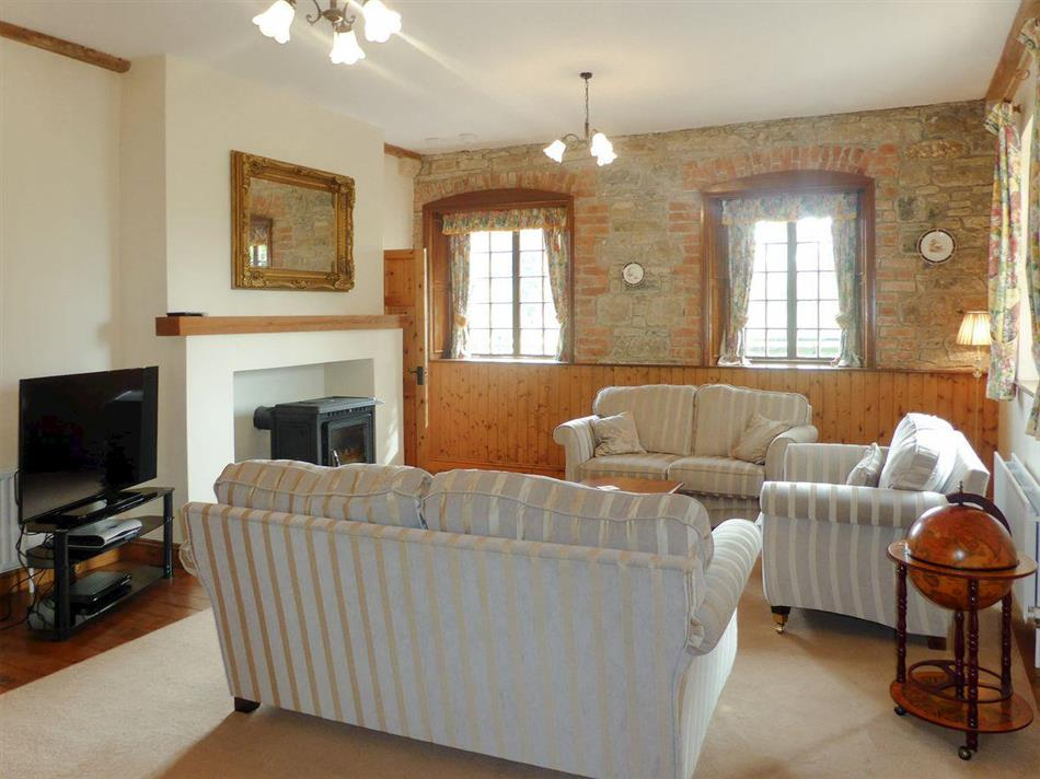 Living room in Belline Estate - The Coach House, Piltown
