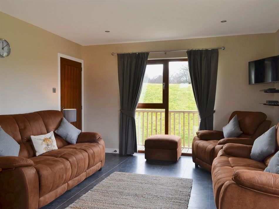 Living room in Birch Lodge, Kiltarlity, near Beauly, Highlands