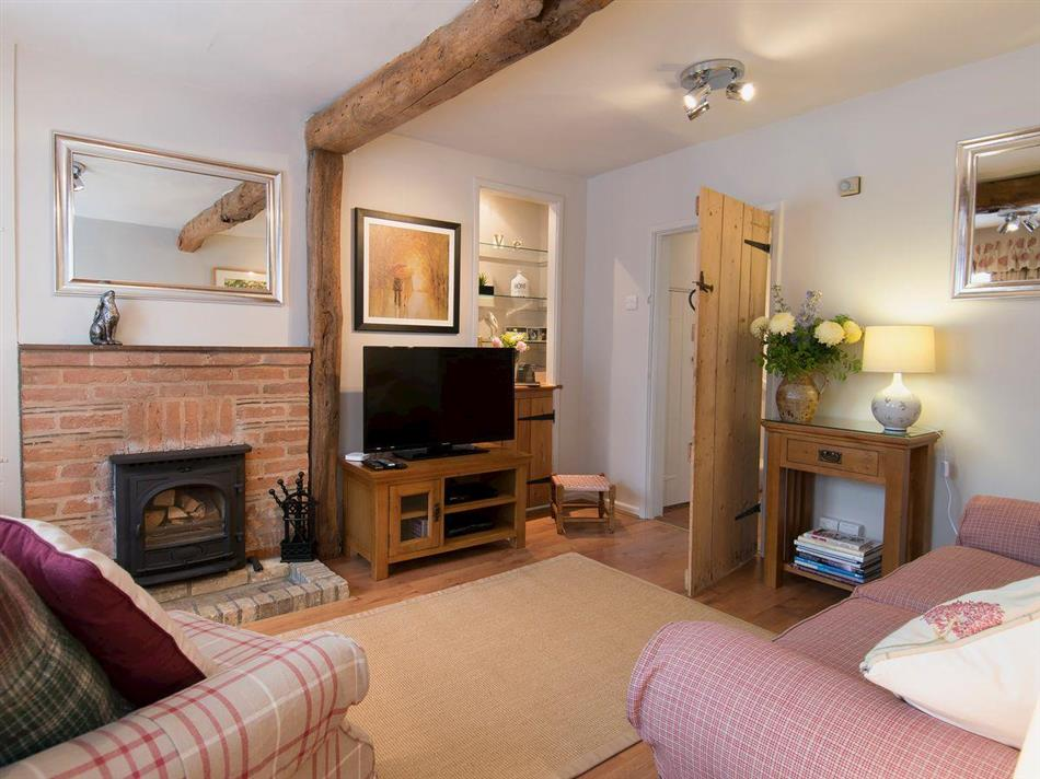 Living room in Blaize Cottages - Jasmine Cottage, Lavenham, near Bury St Edmunds