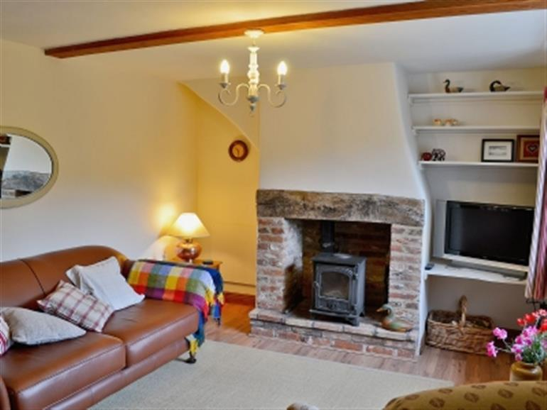 Living room in Briar Cottage, Ingham Corner near North Walsham