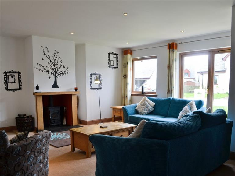 Living room in Cairn View, Inverness-shire