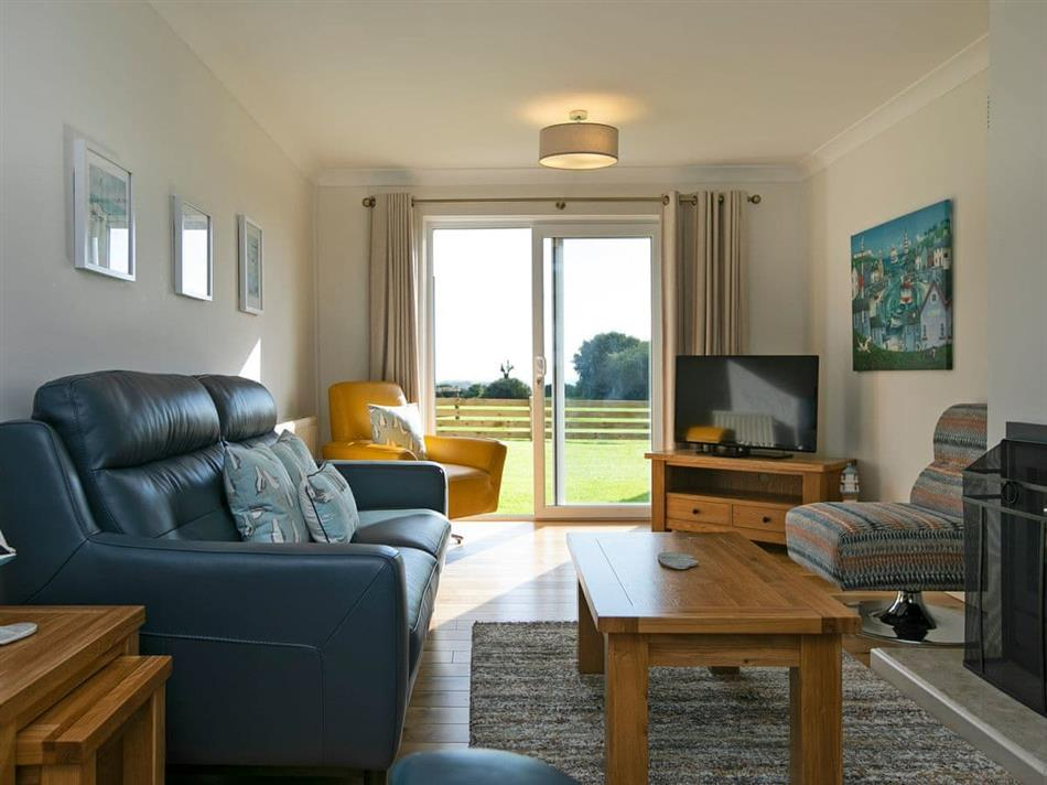Living room in Celtic Haven Resort - Headlands House, Lydstep, near Tenby