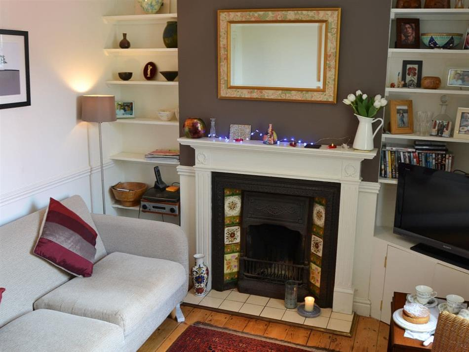 Living room in Cherry Cottage, Great Shelford, near Cambridge