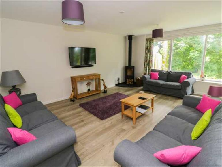 Living room in Cherry - Woodland Cottages, Bowness-in-Windermere