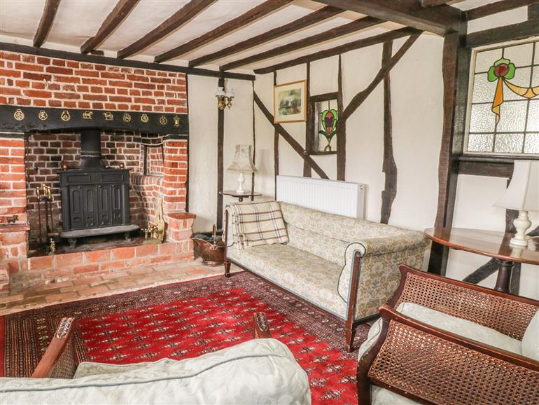 Living room in Clay Street, Thornham Magna