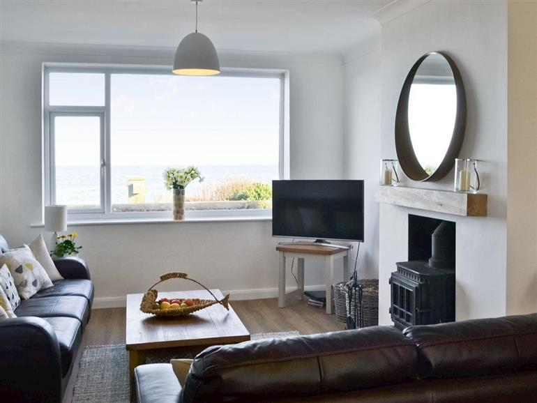 Living room in Craster View, Craster near Alnwick