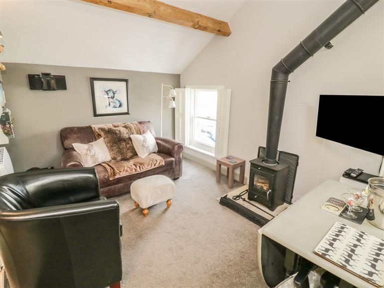 Living room in Dibble Cottage, Reeth