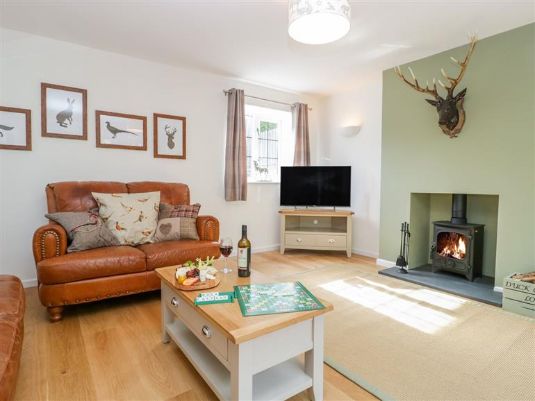 Living room in Duck Cottage, Sutton Poyntz