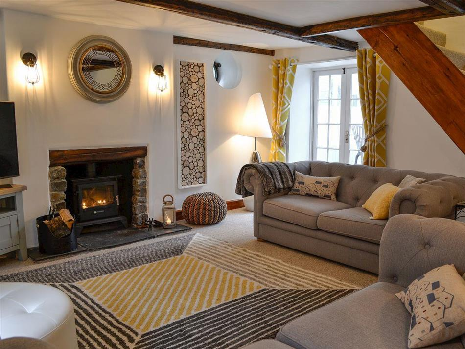 Living room in Harbour Hideaway, Ilfracombe