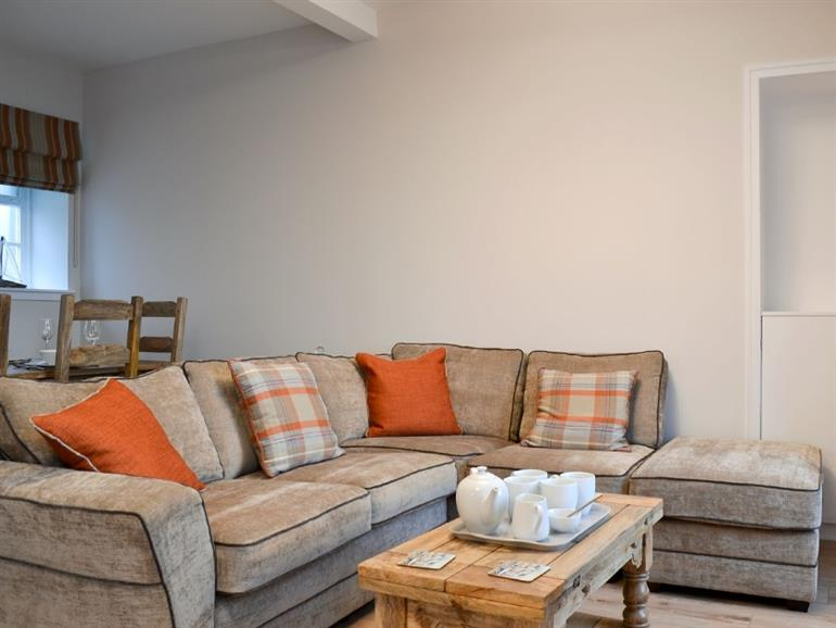 Living room in Harbourside Apartment, Anstruther