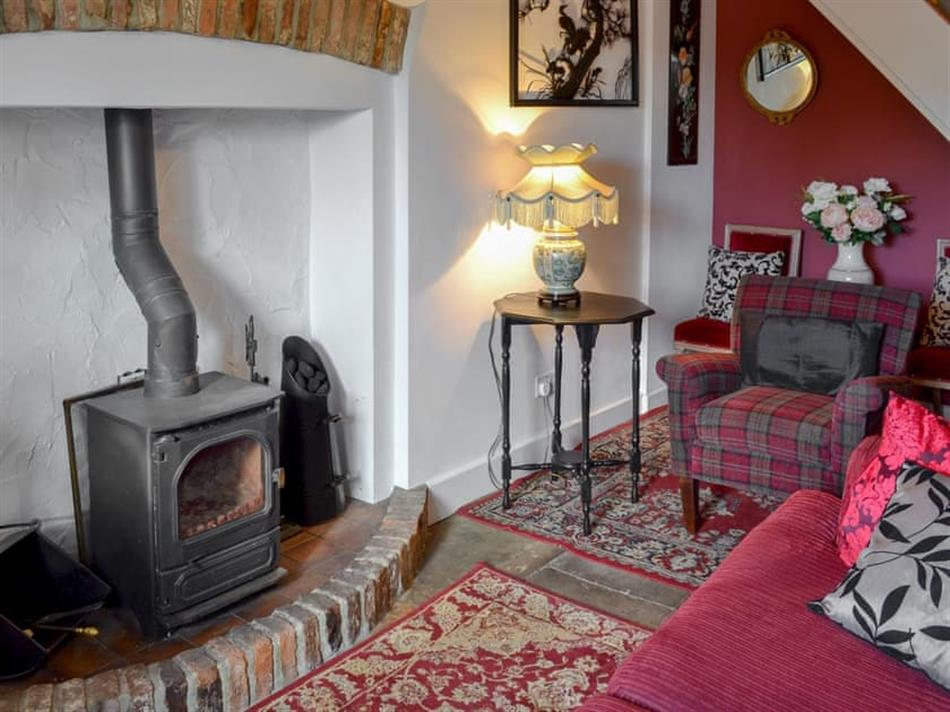 Living room in Hawthorn Cottage, Sleights, near Whitby, Yorkshire