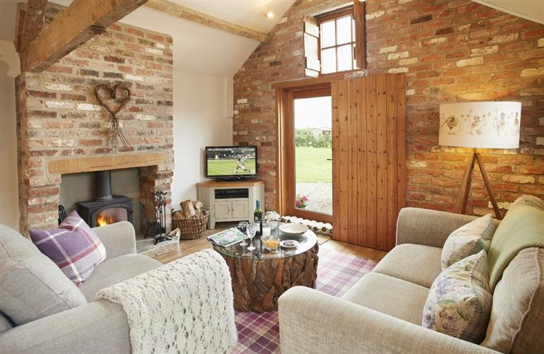 Living room in Hendricks Hollow, Normanby, Yorkshire