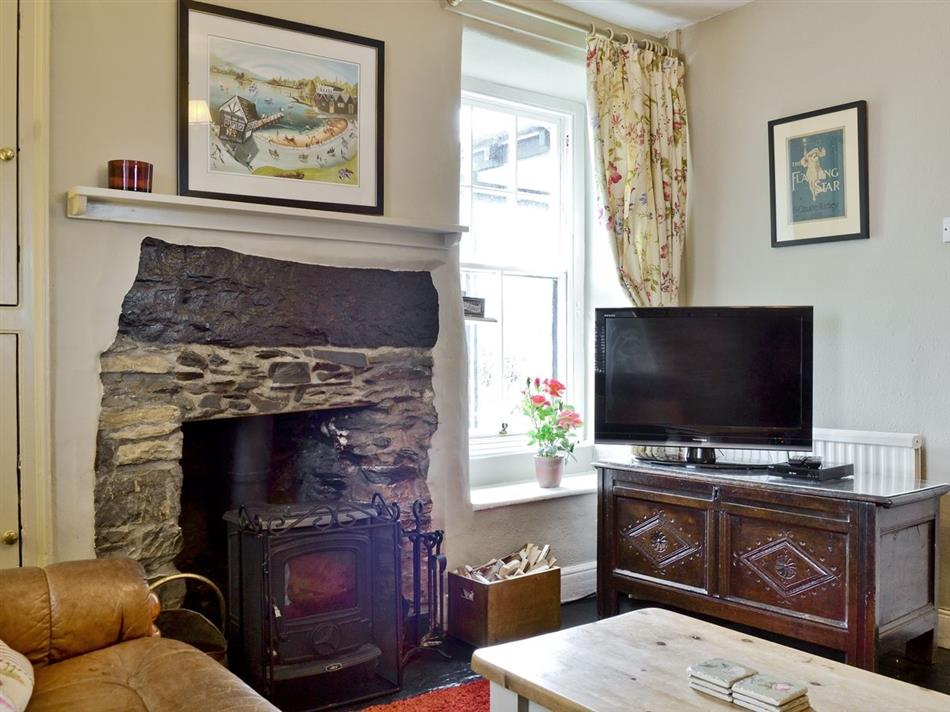 Living room in Howe Cottage, Bowness-on-Windermere
