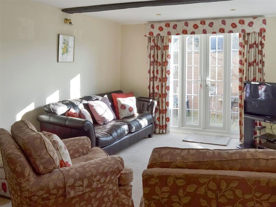 Living room in Janes Cottage, Woore, near Nantwich